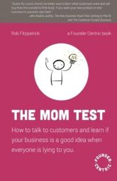 The Mom Test book cover