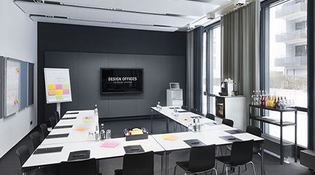 Product Focus Berlin training venue - Design Offices Berlin Am Zirkus, training room