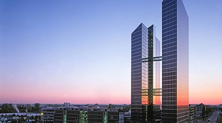 Product Focus Munich training venue - Design Offices Highlight Towers