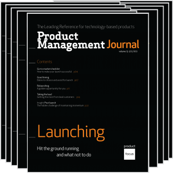 Product Management Journal Issue 1 - Launching