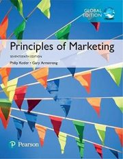 Principles of Marketing book cover