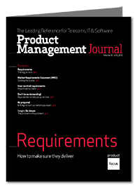 Requirements Product Management Journal