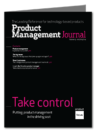Take control Product Management Journal