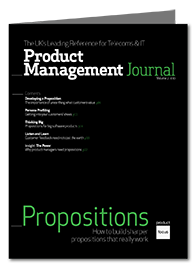 Propositions Product Management Journal