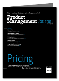 Pricing Product Management Journal