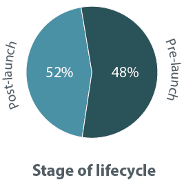 Stages of lifecycle