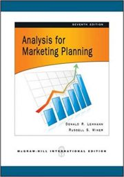 Book cover Analysis for Marketing Planning