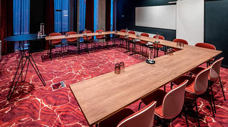 Product Focus Copenhagen training venue - Scandic Kodbyen, training room