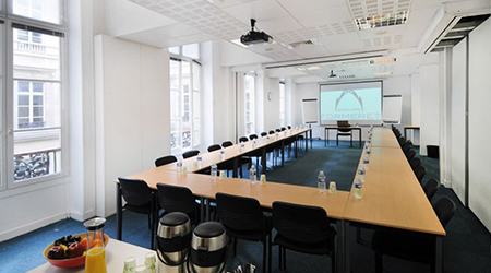 Product Focus Paris training venue - Formeret – Espace Vinci, training room