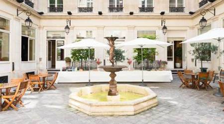 Product Focus Paris training venue - Formeret – Espace Vinci, courtyard
