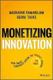 Book cover - Monetizing Innovation