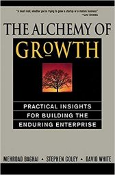Book cover - The Alchemy of Growth