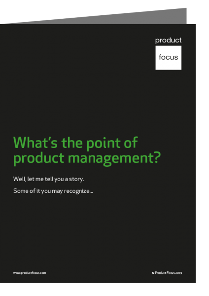 What's the point of product Management Journal