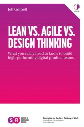 Book cover Lean vs Agile vs Design Thinking