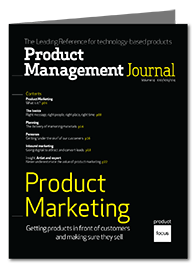 Product Marketing Product Management Journal