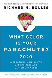 Book cover - What color is your Parachute?