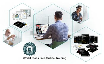 Online training advert