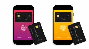 Payment for credit card from phone