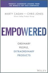 Book cover - Empowered by Marty Cagan