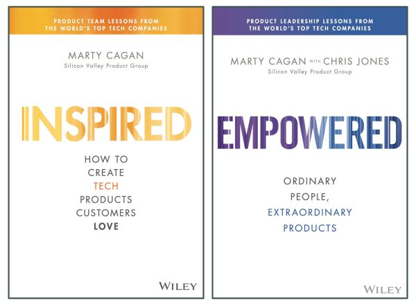 Book covers of Inspired and Empowered