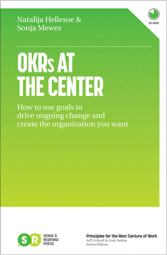 Book cover - OKRs at the Center